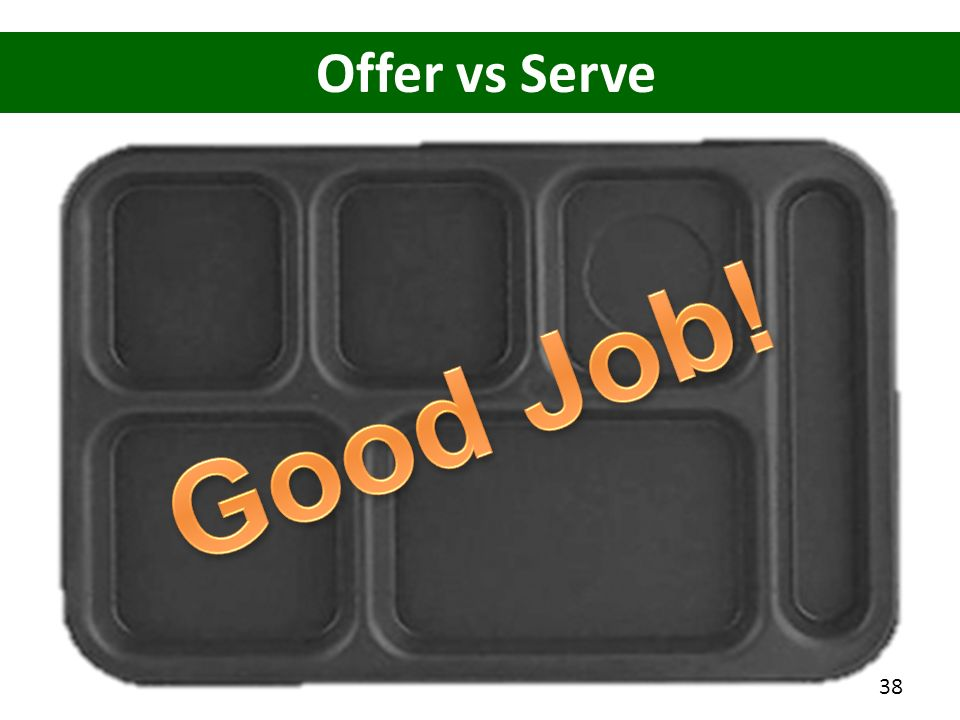 Offer vs Serve 38