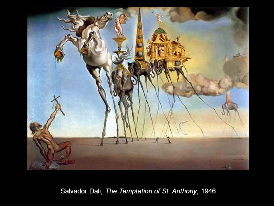 Salvador Dali, The Temptation of St. Anthony, 1946