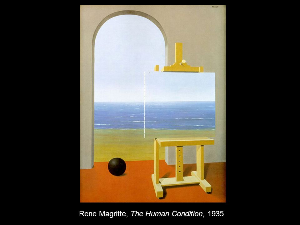 Rene Magritte, The Human Condition, 1935