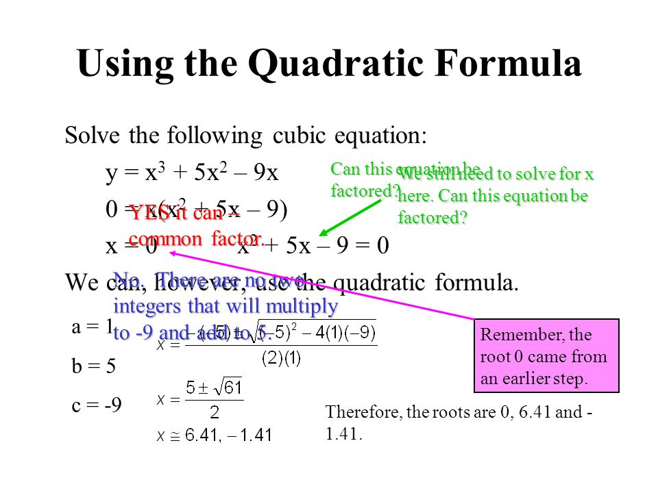 Solving Cubic Equations Quadratic Formula Tessshebaylo – Graphing Cubic Functions Worksheet