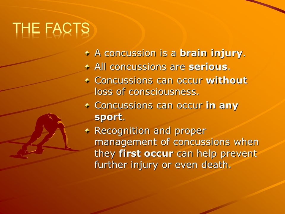 A concussion is a brain injury.All concussions are serious.