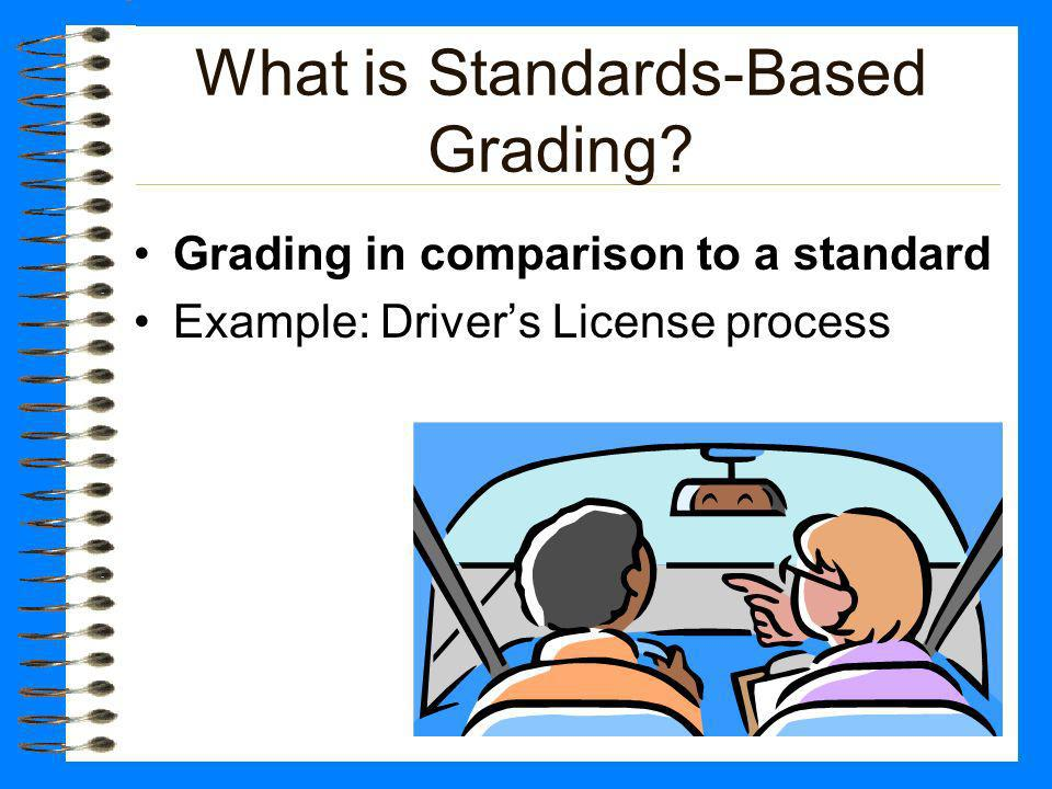 What is Standards-Based Grading.