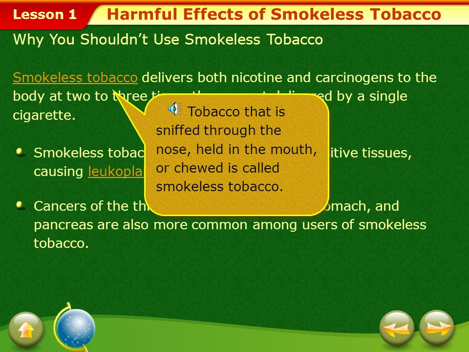 Lesson 1 Toxic Tobacco Not only is tobacco addictive, but the smoke from burning tobacco is toxic. In 1992 the Environmental Protection Agency classif