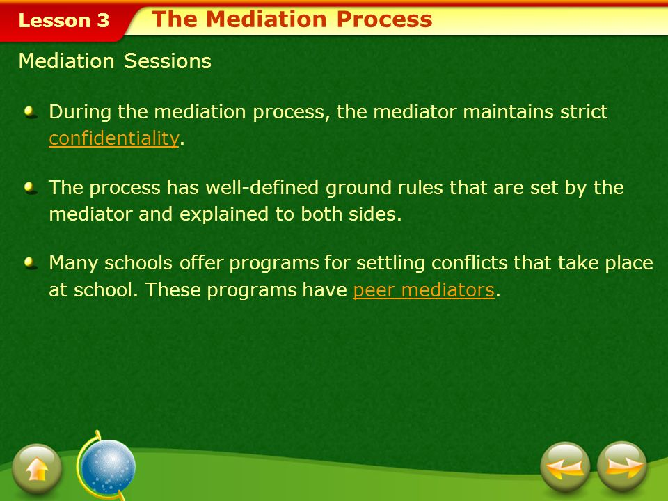 Lesson 3 What Is Mediation.