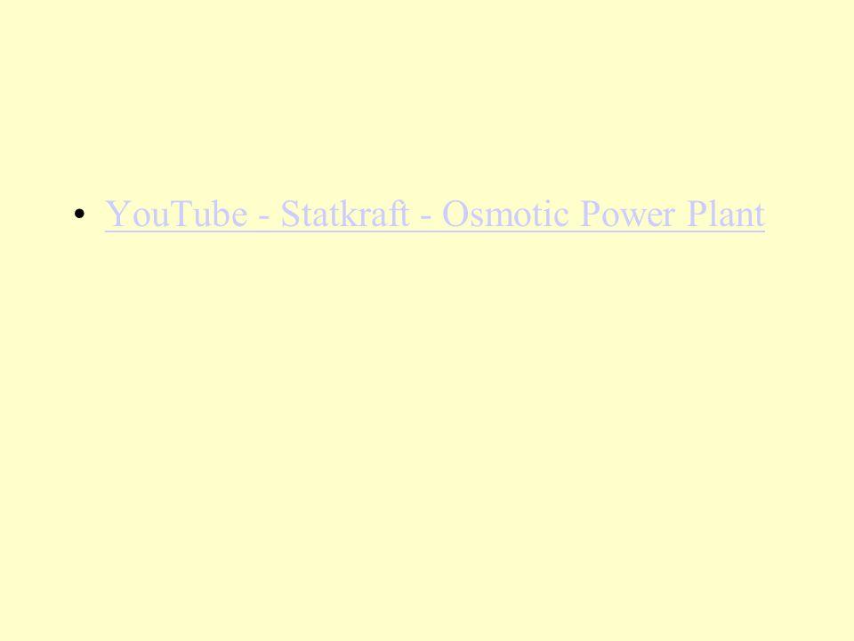 YouTube - Statkraft - Osmotic Power Plant