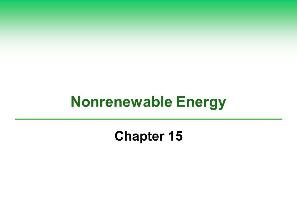Science Focus: Net Energy Is the Only Energy That Really Counts It takes energy to get energy Second Law of Thermodynamics Net energy expressed as net energy ratio Conventional oil: high net energy ratio Electricity produced by the nuclear power fuel cycle: low net energy ratio