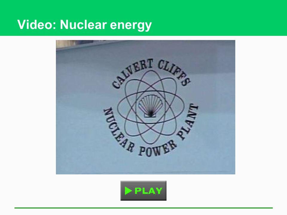 Video: Nuclear energy