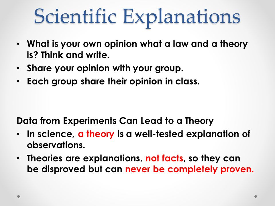 continue A hypothesis is a reasonable and testable explanation for observations. Variables -A factor that could affect the results of an experiment In