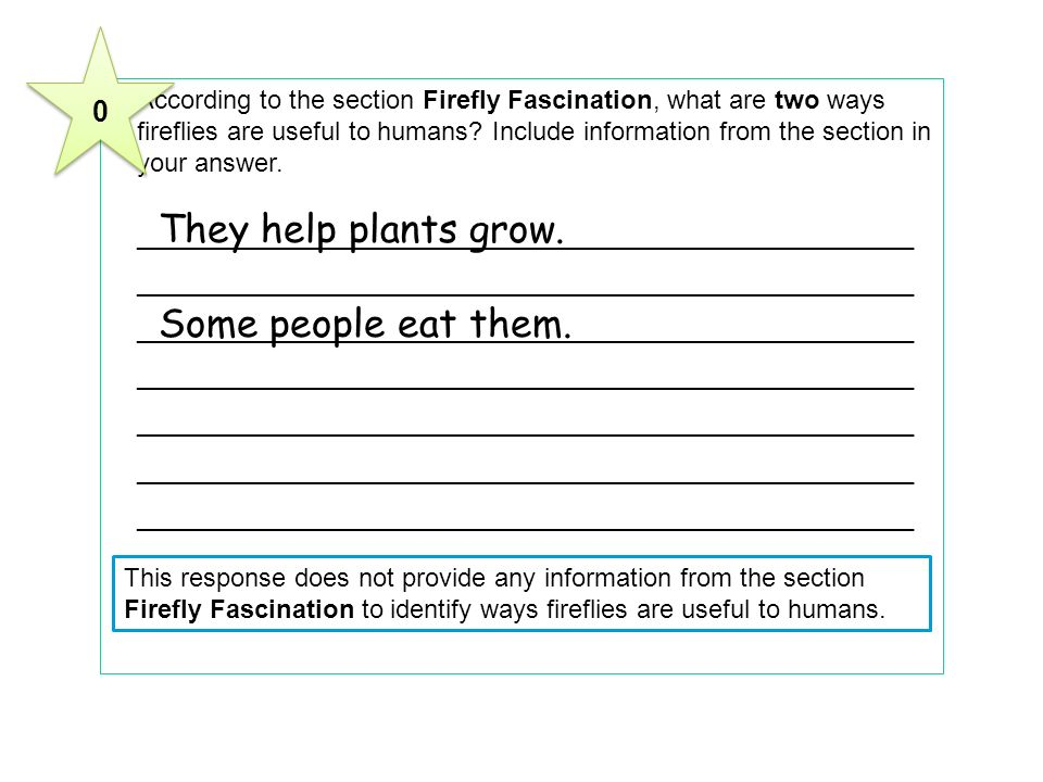 9According to the section Firefly Fascination, what are two ways fireflies are useful to humans.