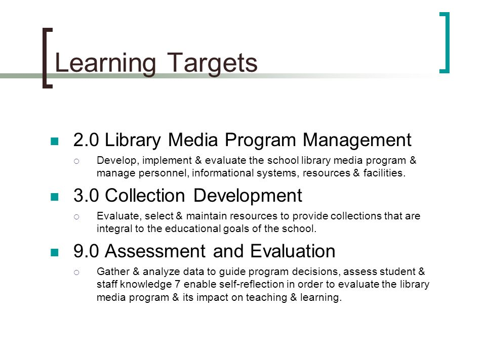 Collaboration Projects Presentations include: 1.List of resources used from collection 2.