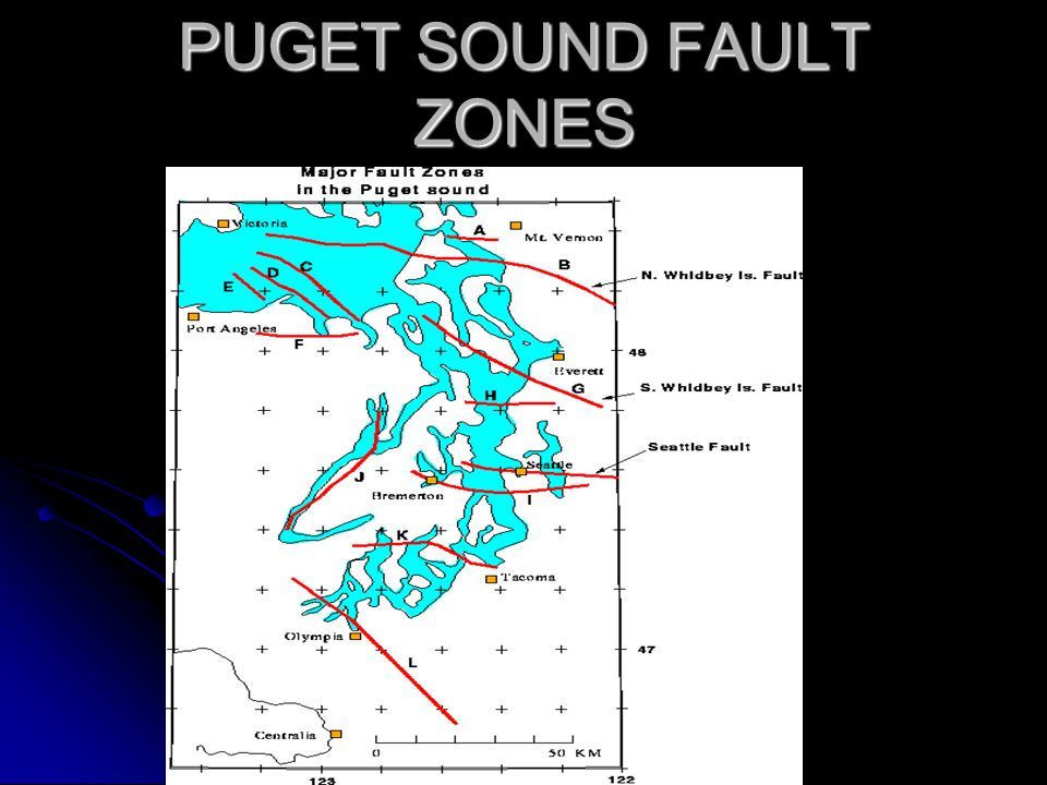 PUGET SOUND FAULT ZONES