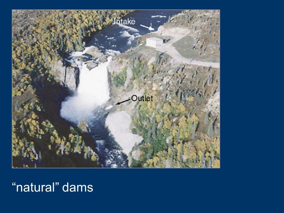 natural dams