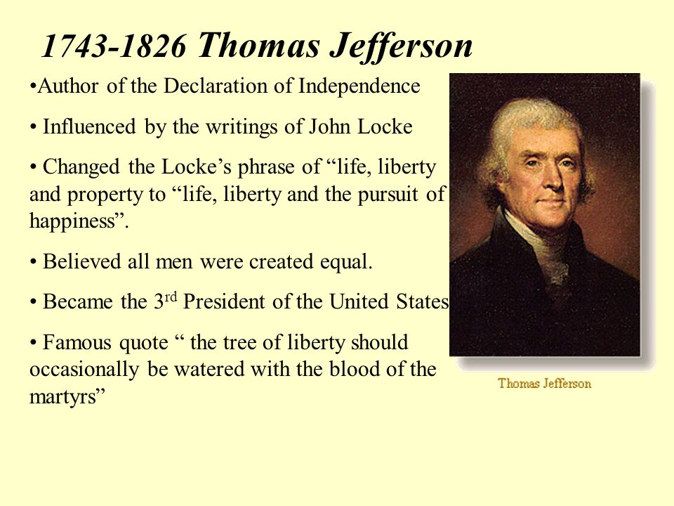 the impact of thomas jefferson in the american economy Entrepreneurship & social impact initiative leadership judy continues her work to build a new economy of beautiful the web site for thomas jefferson.
