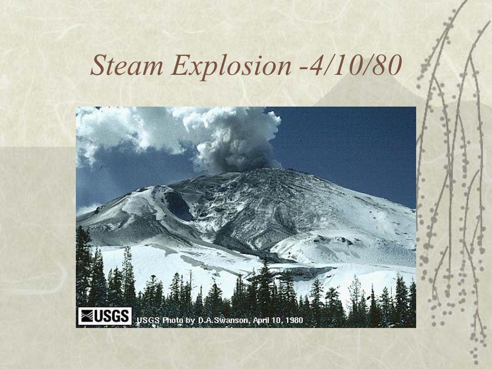 Steam Explosion -4/10/80