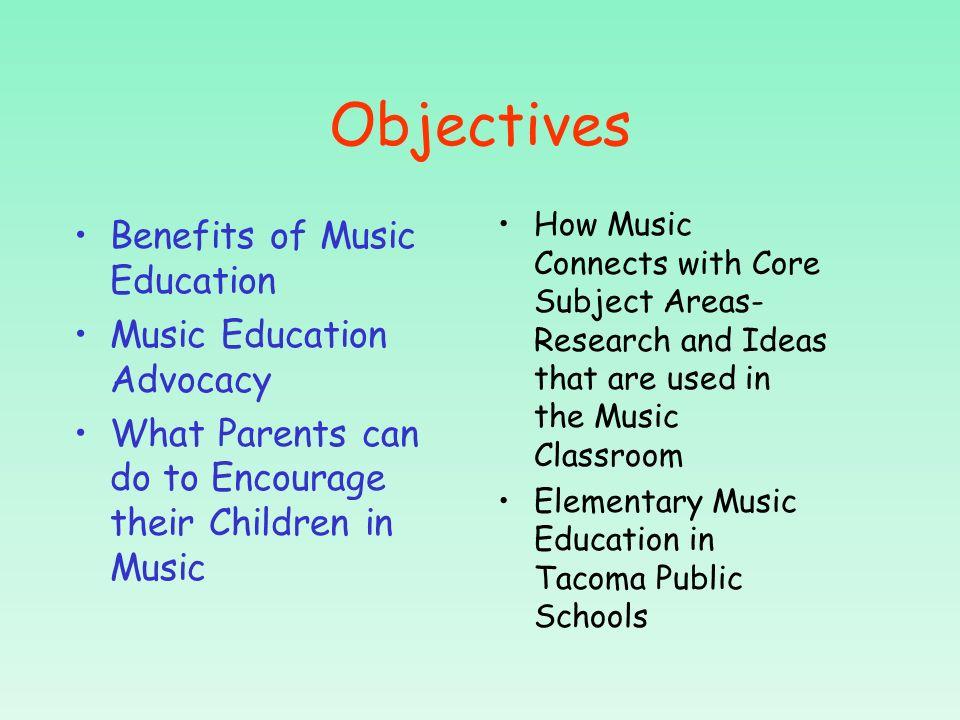 Mrs. Burns Music Class WHY MUSIC?