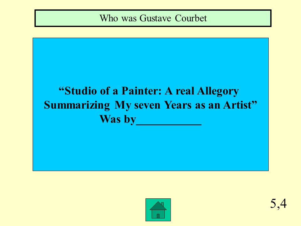 5,3 flinging a pot of paint in the face of the public was a quote from Who was Ruskin the art critic of Whistler