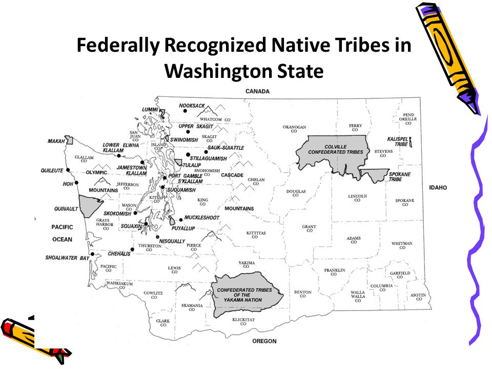 Federally Recognized Native Tribes in Washington State