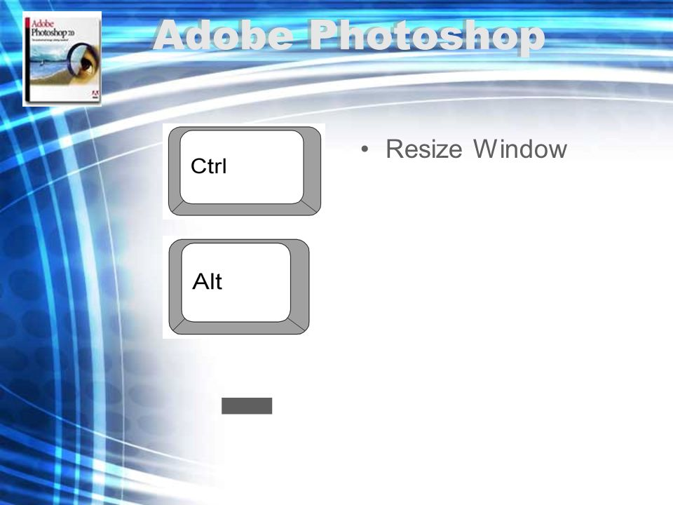 - Resize Window Adobe Photoshop