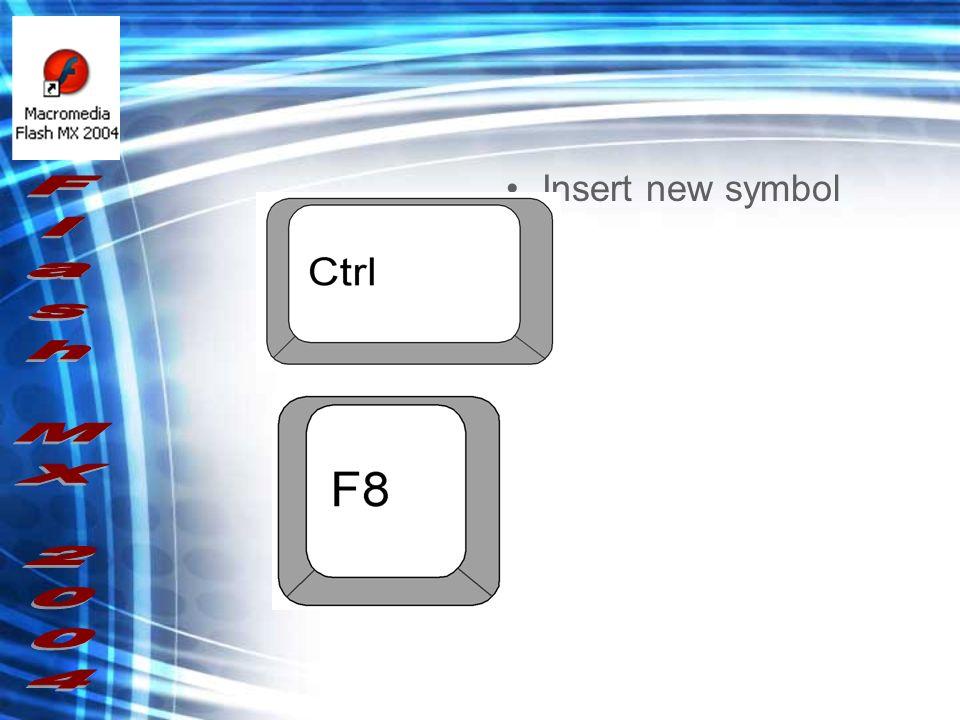 Insert new symbol