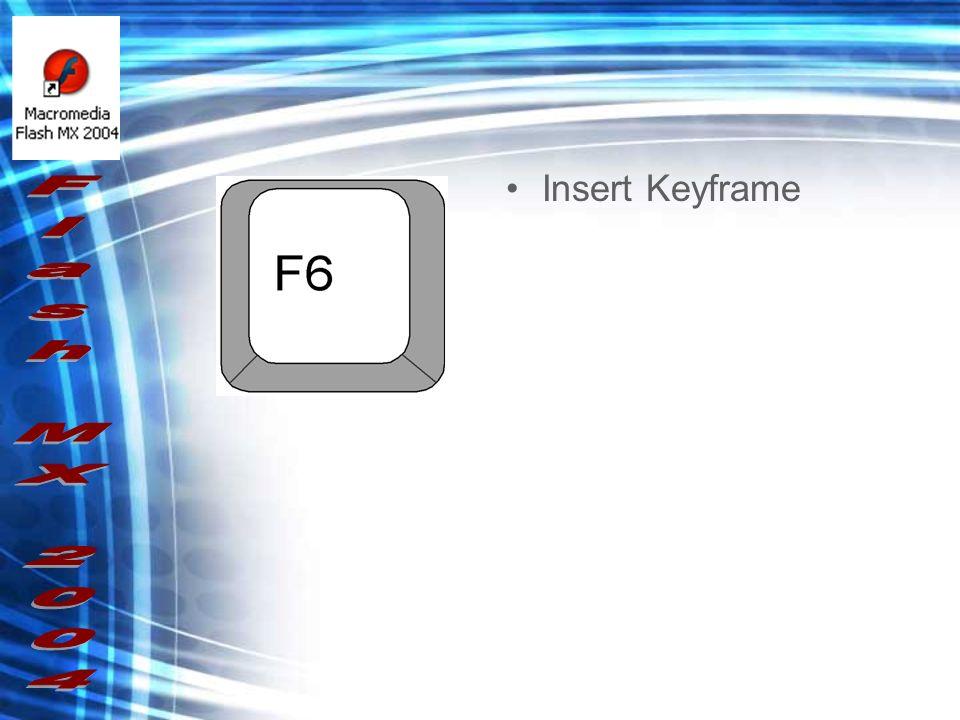 Insert Keyframe