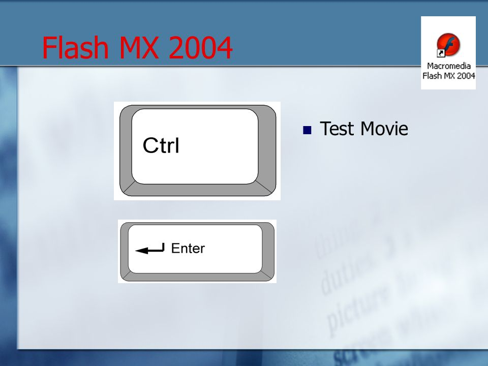 Test Movie Flash MX 2004