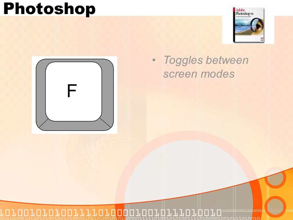 Photoshop Toggles between screen modes F