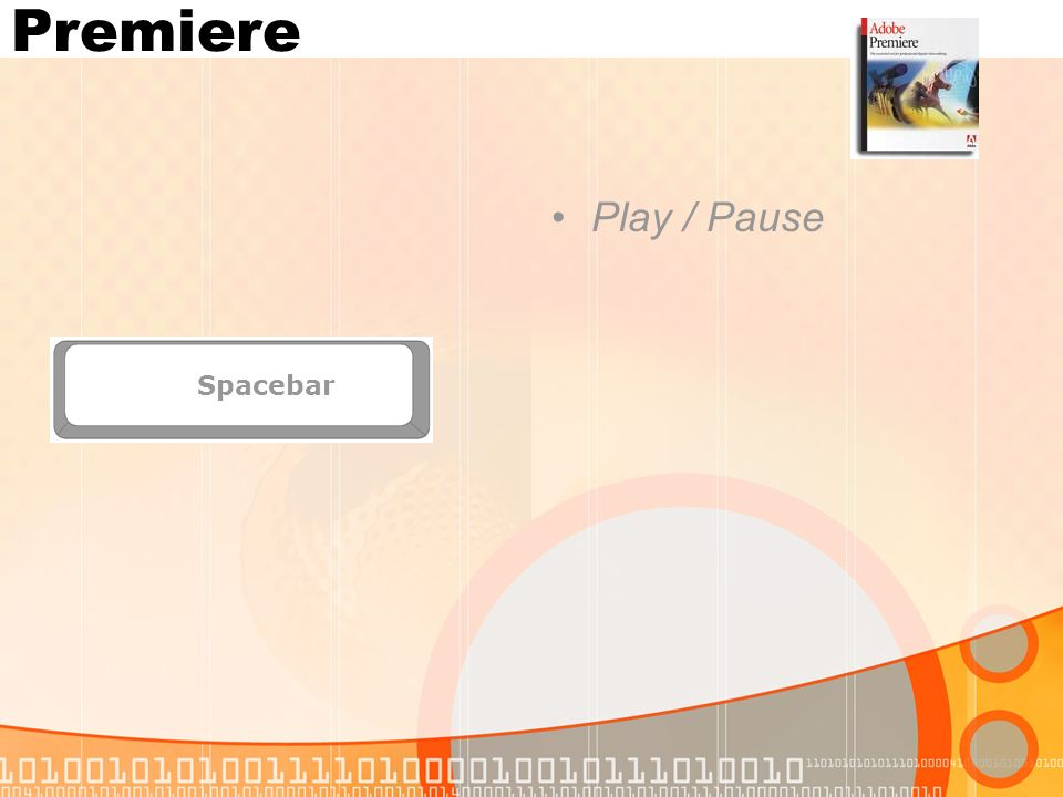 Premiere Spacebar Play / Pause