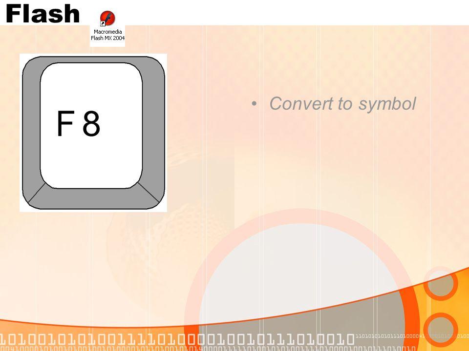 Convert to symbol 8