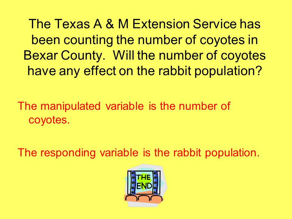 The Texas A & M Extension Service has been counting the number of coyotes in Bexar County.