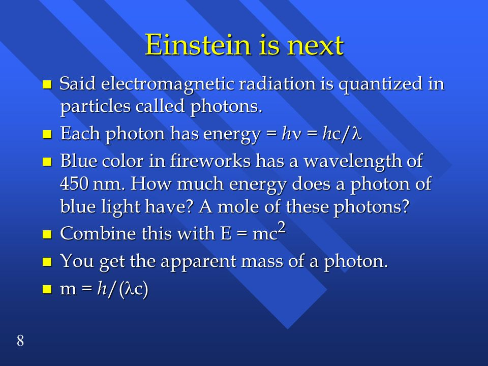 29 Example: Describe the electrons defined by the following quantum numbers: n l m 3 0 0 3s electron 2 1 1 2p electron 4 2 -1 4d electron 3 3 2 not allowed (l must be < n) 3 1 2 not allowed (ml must be between -l and l)