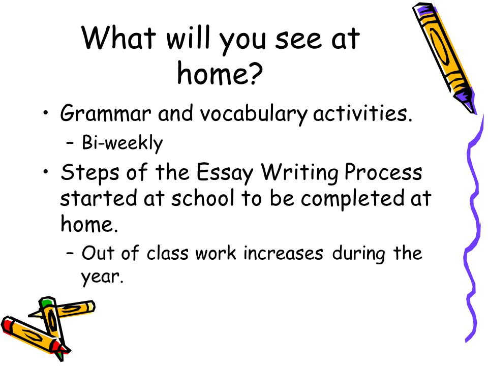 What will you see at home. Grammar and vocabulary activities.
