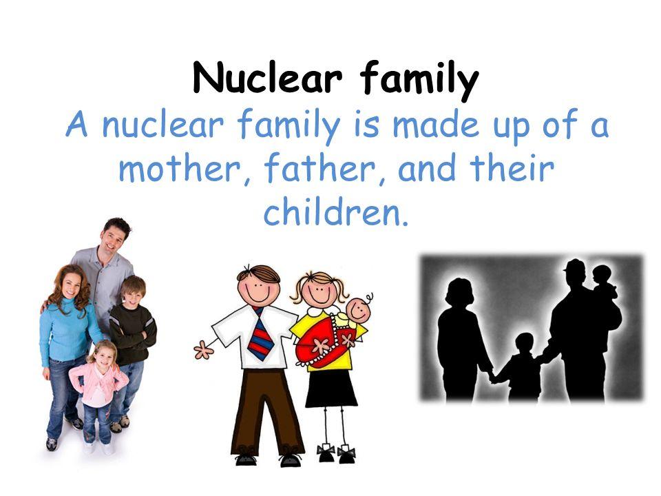 Extended Family An extended family is a family of several generations.