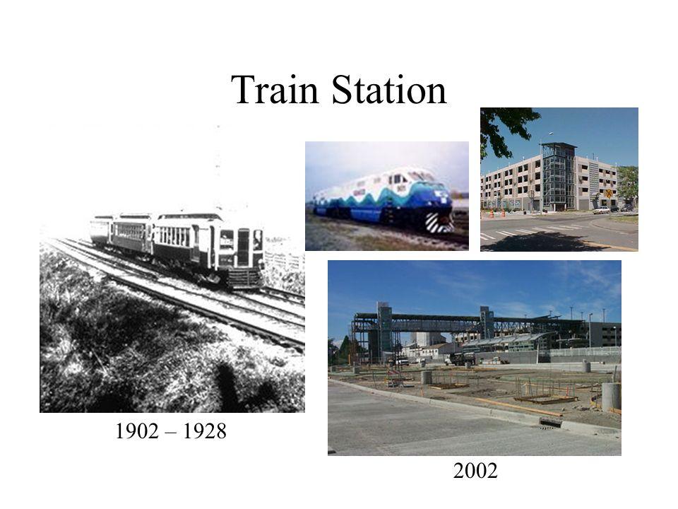 Train Station 1902 – 1928 2002