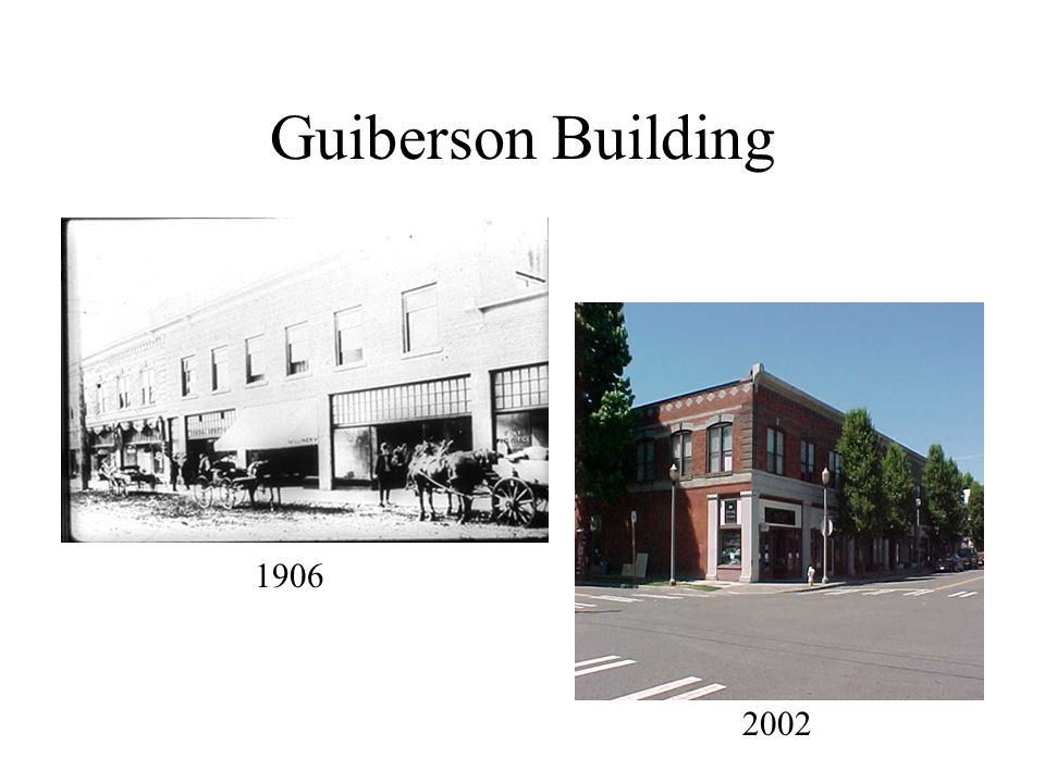 Guiberson Building 1906 2002