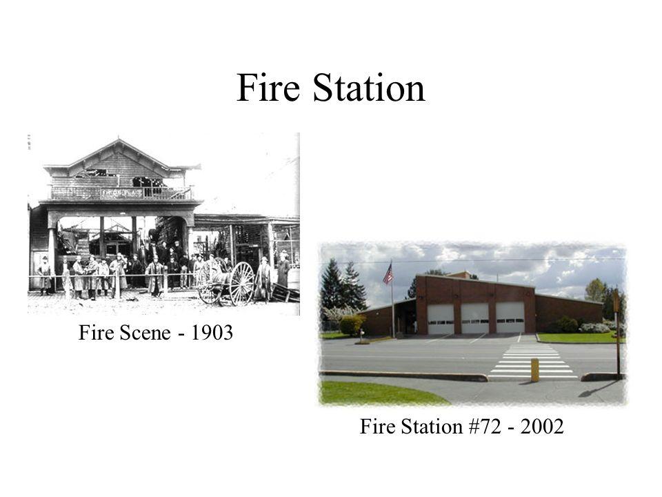 Fire Station Fire Station #72 - 2002 Fire Scene - 1903
