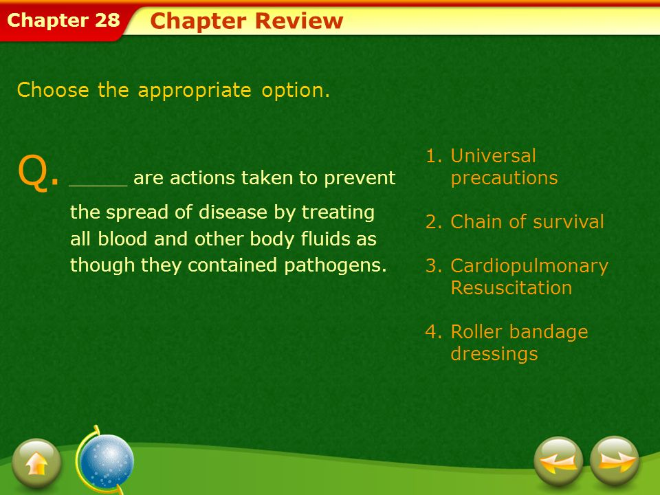 Chapter 28 Chapter Review A.Snake venom is a poison when it is introduced into the human body.
