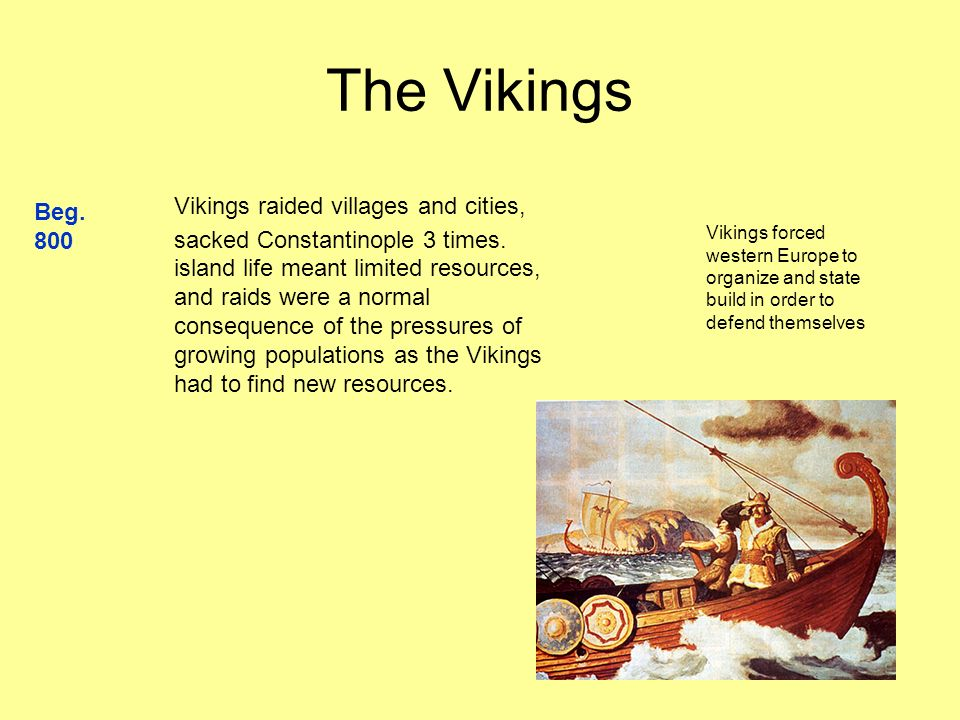 Emergence of Nation States Viking invasions force the Angles and Saxons to consolidate under Alfred (r.