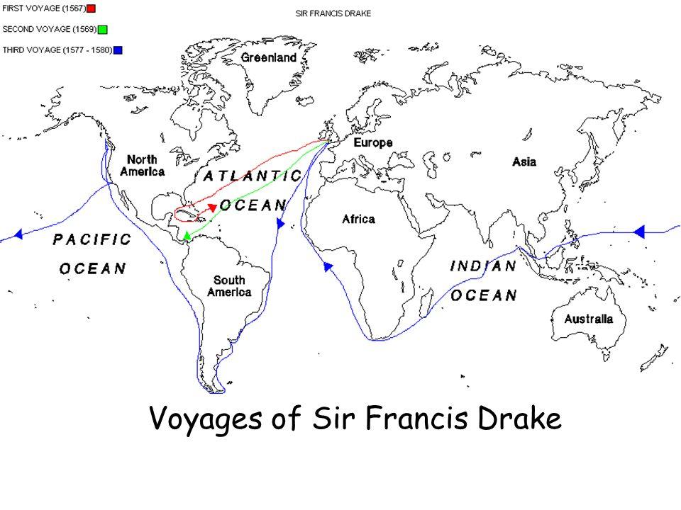 Voyages of Sir Francis Drake