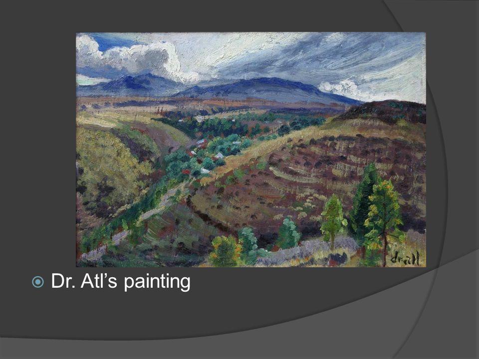 Dr. Atls painting
