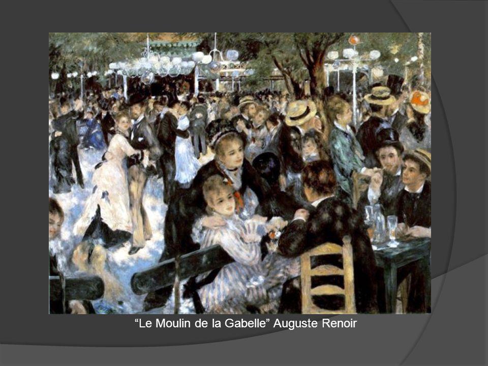Le Moulin de la Gabelle Auguste Renoir