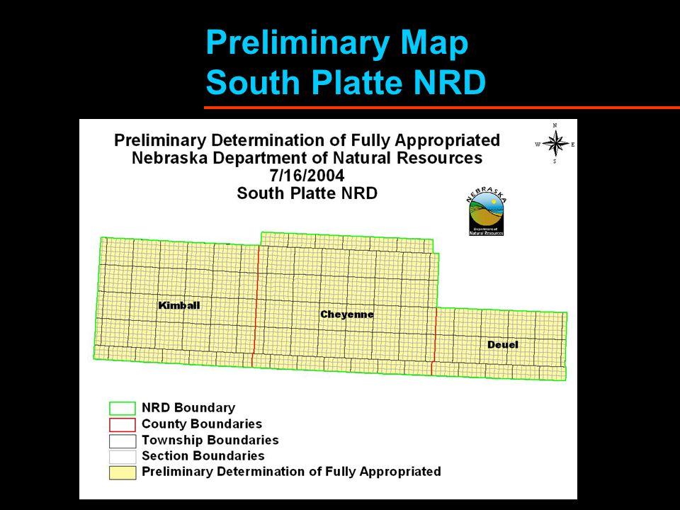 Preliminary Map South Platte NRD