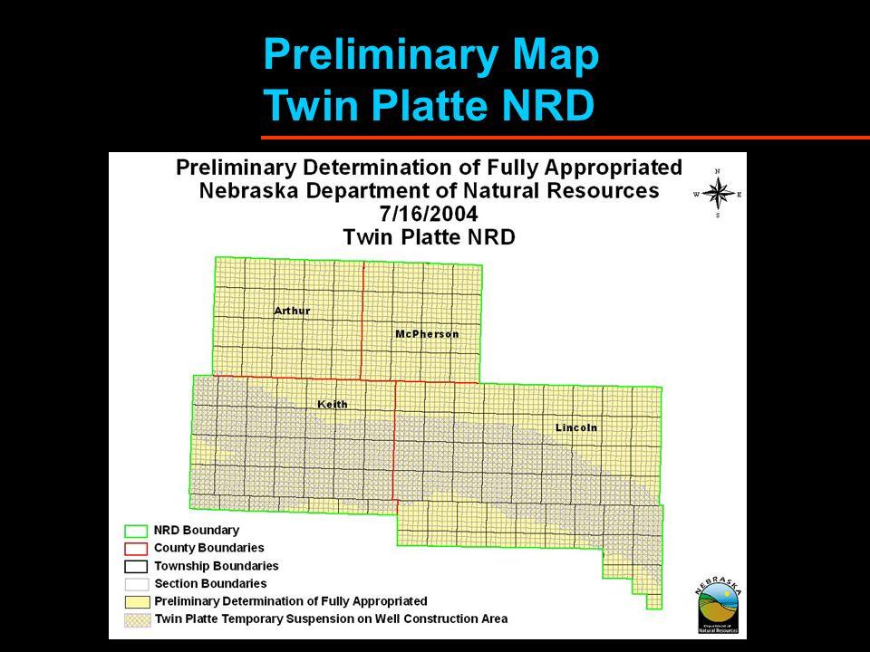 Preliminary Map Twin Platte NRD