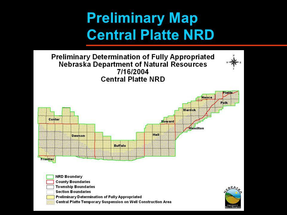 Preliminary Map Central Platte NRD