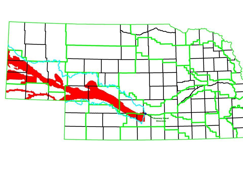 Preliminary Determination of Overappropriated Area MAP of overappropriated area