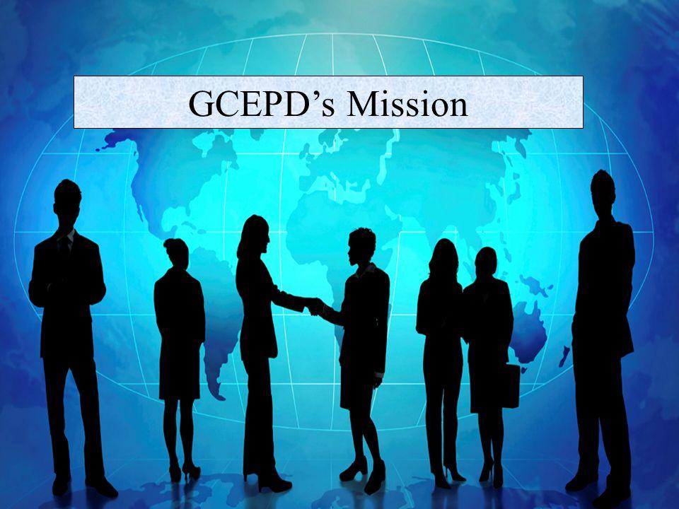 GCEPDs Mission