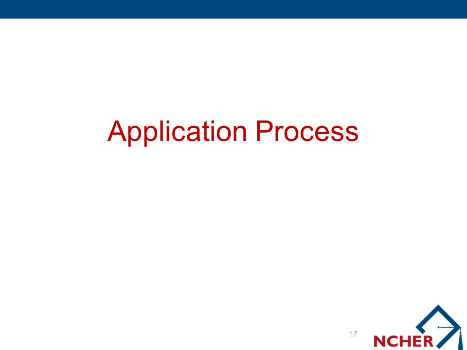 Application Process 17