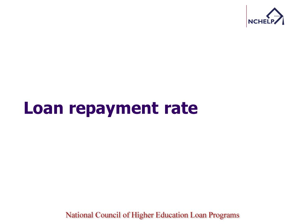 Earnings rate Annual Loan Payment (ALP) is calculated using the median loan debt and the current 6.8% interest rate on unsubsidized Stafford loans, based on a: 10-year repayment schedule for a program that leads to an undergraduate or post-baccalaureate certificate, or to an associates degree; 15-year repayment schedule for a program that leads to a bachelors or masters degree; or 20-year repayment schedule for a program that leads to a doctoral or first professional degree § 668.7 (c) 15