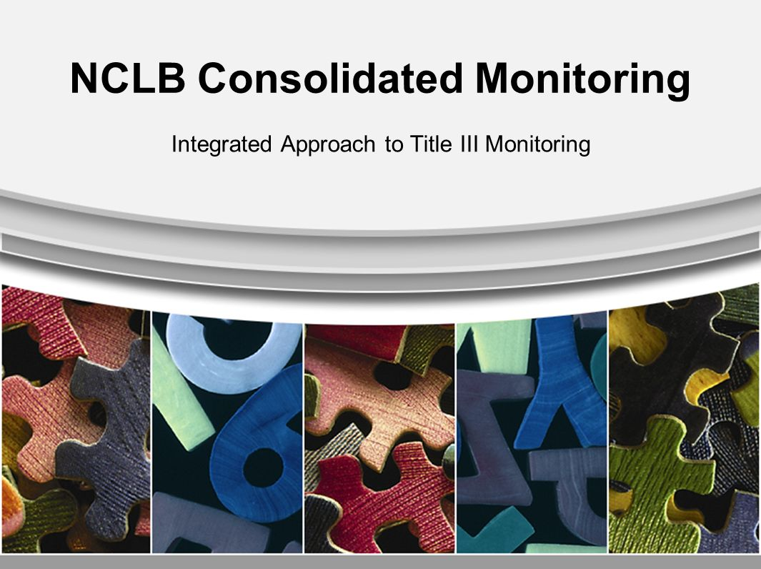 Overview of the Presentation Overview of Consolidated Monitoring Monitoring Summary for 2007-08 –# Counties monitored –Common findings Procedures –Desk monitoring Standards –Onsite monitoring School Visits Samples Best Practices