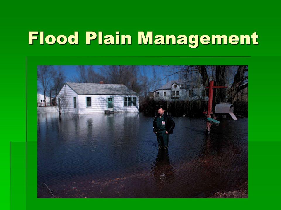Flood Plain Management