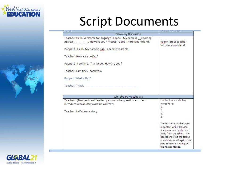 Script Documents
